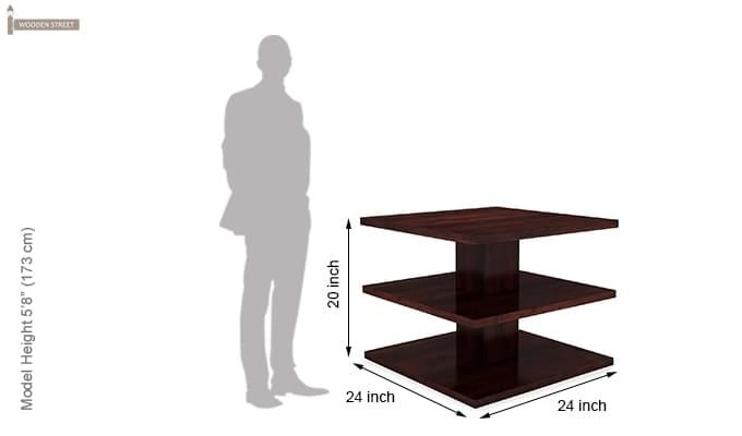 Watney Coffee Table (Mahogany Finish)-6