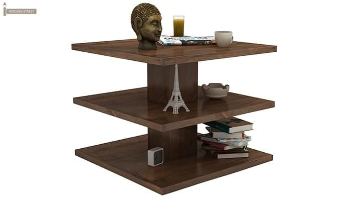 Watney Coffee Table (Teak Finish)-2