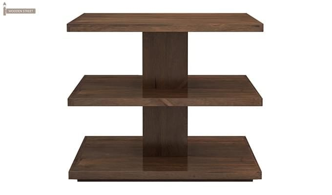 Watney Coffee Table (Teak Finish)-4