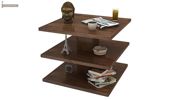 Watney Coffee Table (Teak Finish)-5