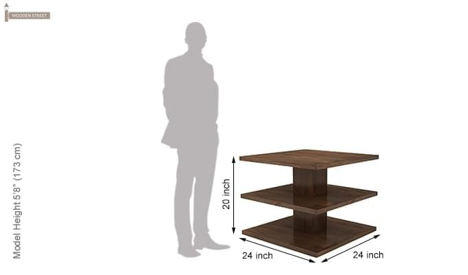 Watney Coffee Table (Teak Finish)-7