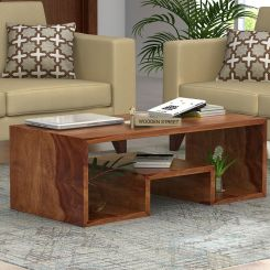 Watson Coffee Table (Teak Finish)