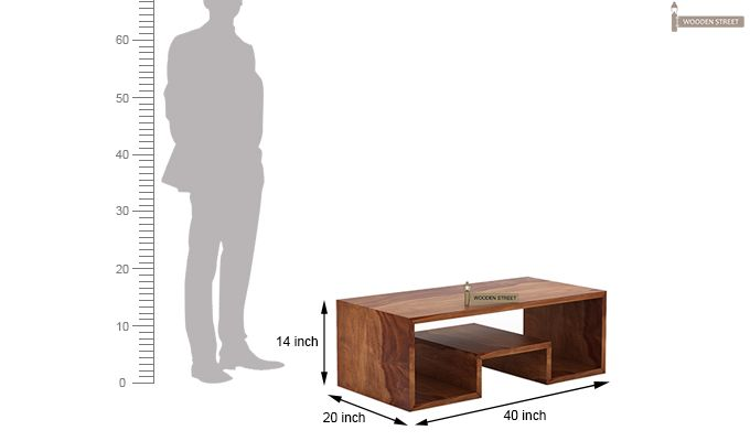 Watson Coffee Table (Teak Finish)-5