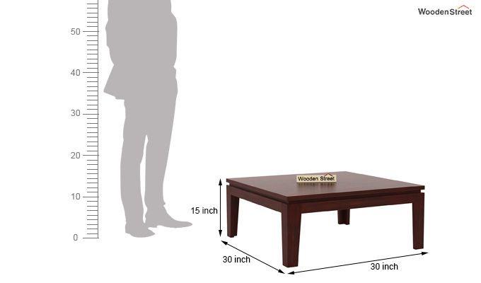 Weiss Tea Table (Mahogany Finish)-4