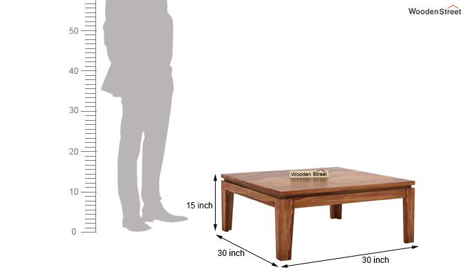 Weiss Tea Table (Teak Finish)-4