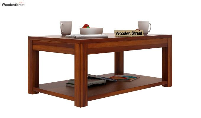 Wilma Center Table (Honey Finish)-2