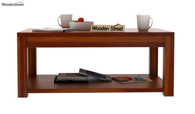 Wilma Center Table (Honey Finish)-3