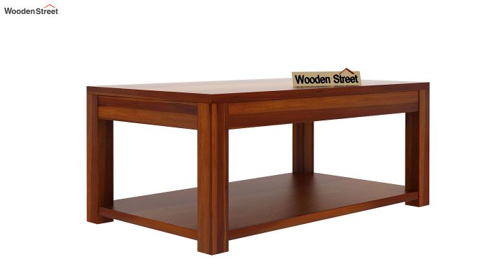 Wilma Center Table (Honey Finish)-4