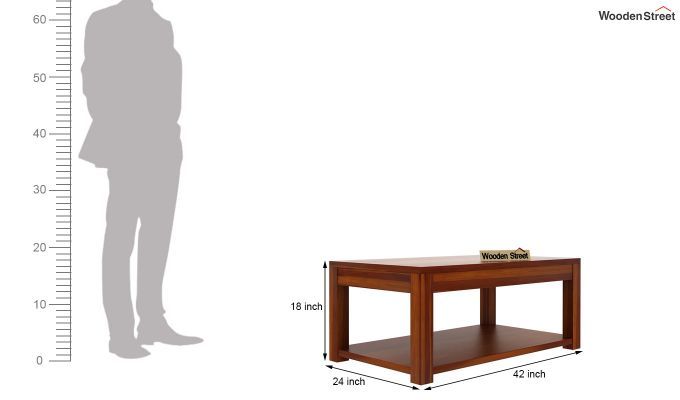 Wilma Center Table (Honey Finish)-5