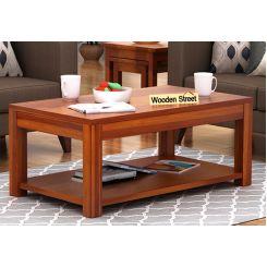 Wilma Center Table (Honey Finish)