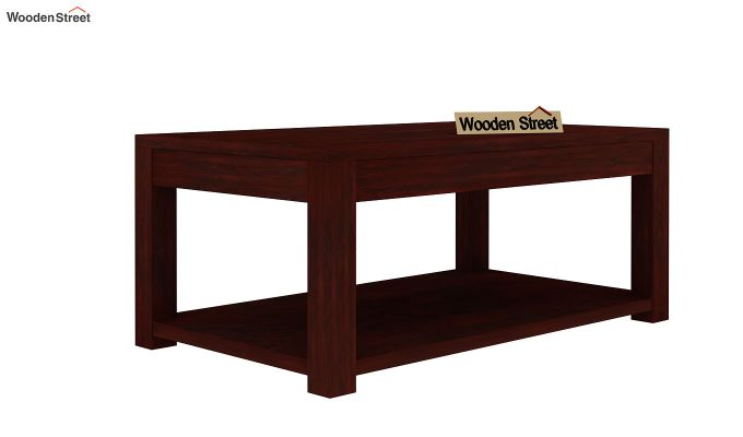 Wilma Center Table (Mahogany Finish)-3