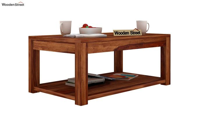 Wilma Center Table (Teak Finish)-1