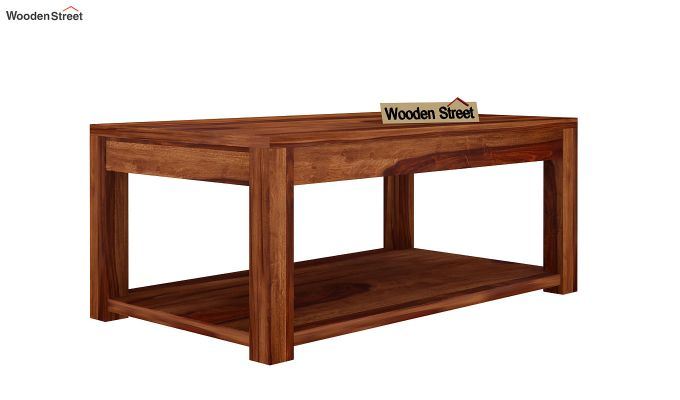 Wilma Center Table (Teak Finish)-3
