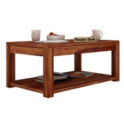 Wilma Center Table (Teak Finish)
