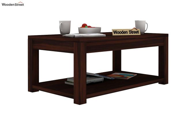 Wilma Center Table (Walnut Finish)-1