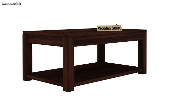 Wilma Center Table (Walnut Finish)-3