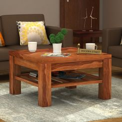 Zander Coffee Table (Teak Finish)