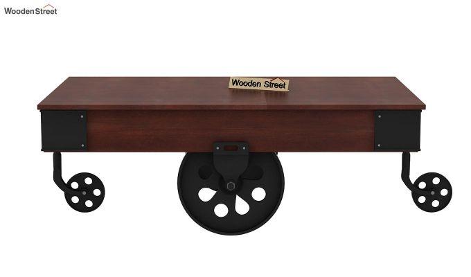 Zibar Loft Coffee Table (Walnut Finish)-4