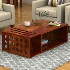 Ziegler Coffee Table (Honey Finish)