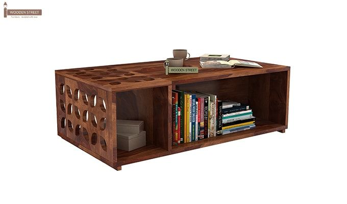 Ziegler Coffee Table (Teak Finish)-1
