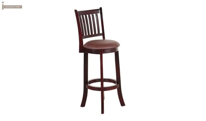 Adelaide Bar Chair (Mahogany Finish)-1