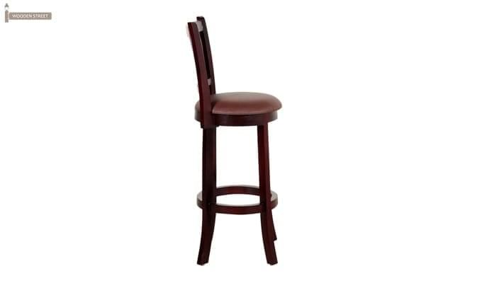 Adelaide Bar Chair (Mahogany Finish)-2