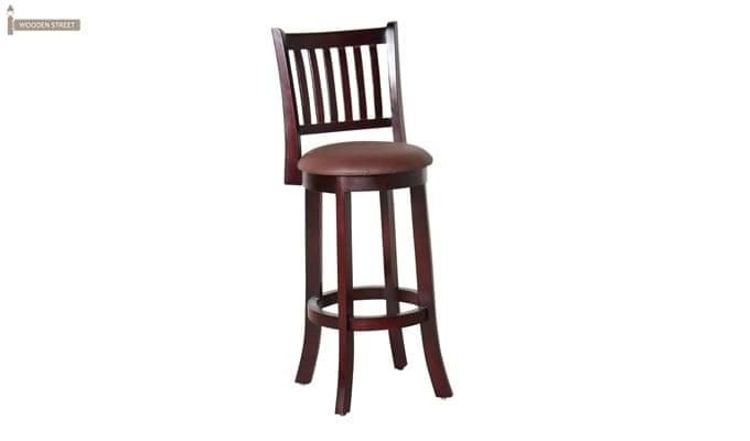 Adelaide Bar Chair (Mahogany Finish)-3