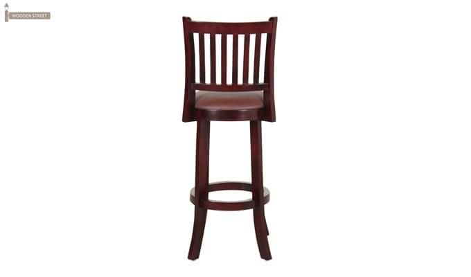 Adelaide Bar Chair (Mahogany Finish)-5