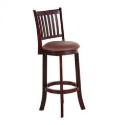 Adelaide Bar Stool (Mahogany Finish)