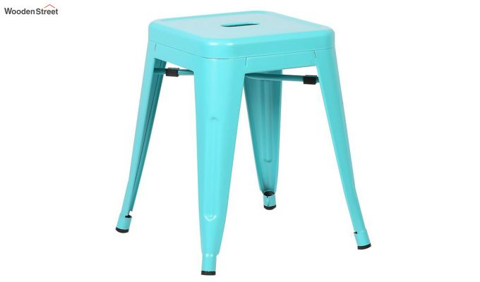 Alyssa Bar Stool (Cyan Blue)-2