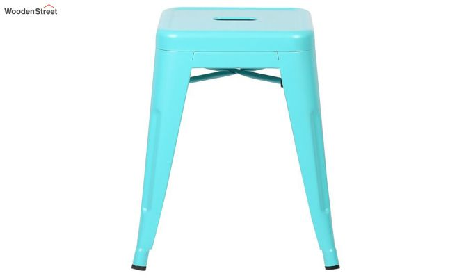Alyssa Bar Stool (Cyan Blue)-3