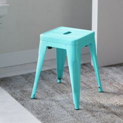 Alyssa Bar Stool (Cyan Blue)