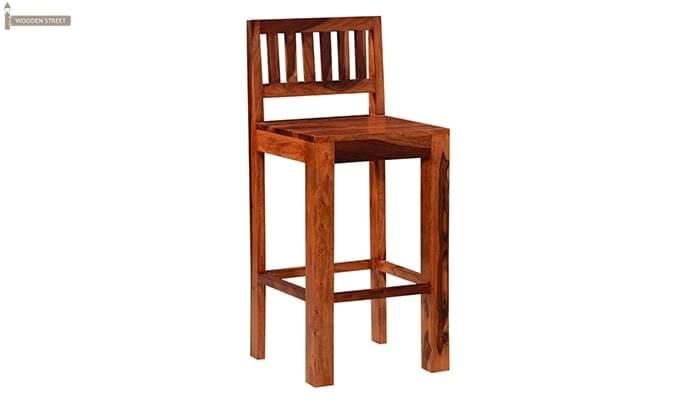 Benton Bar Chair (Honey Finish)-1