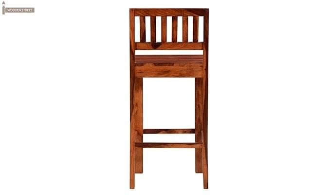 Benton Bar Chair (Honey Finish)-4