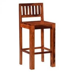 Benton Bar Chair (Honey Finish)