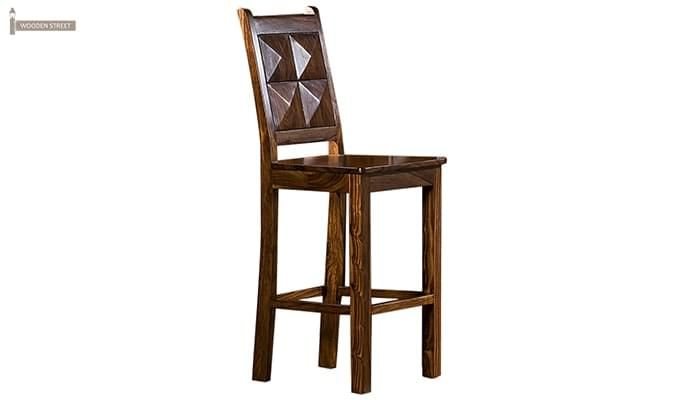 Gerard Bar Stool (Teak Finish)-1
