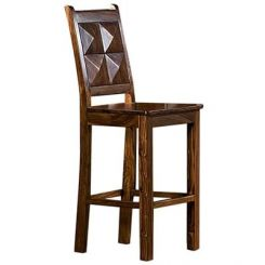 Gerard Bar Stool (Teak Finish)