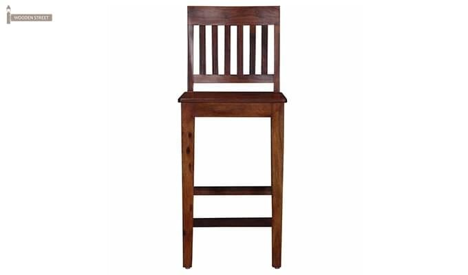 Kieron Bar Stool (Teak Finish)-2