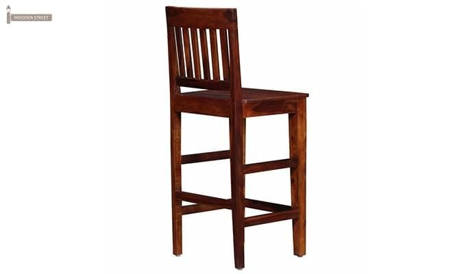 Kieron Bar Stool (Teak Finish)-4
