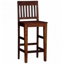 Kieron Bar Stool (Teak Finish)