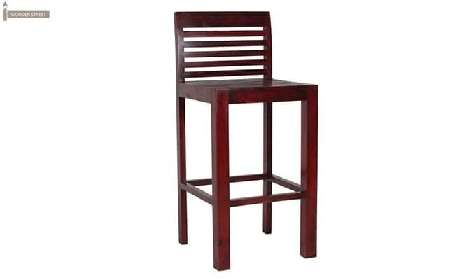 Onika Bar Chair (Mahogany Finish)-1
