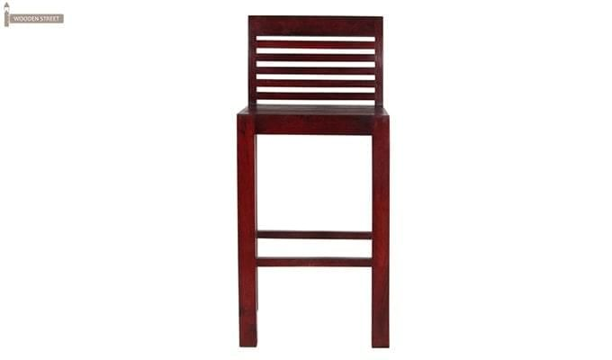Onika Bar Chair (Mahogany Finish)-3