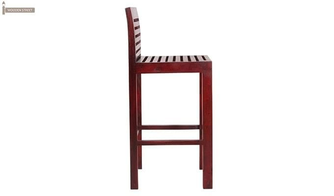 Onika Bar Chair (Mahogany Finish)-4