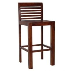 Onika Bar Chair (Teak Finish)