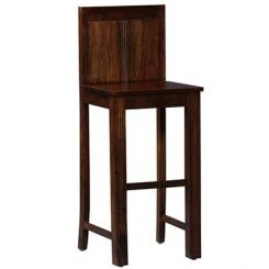 Santokie Bar Stool (Teak Finish)