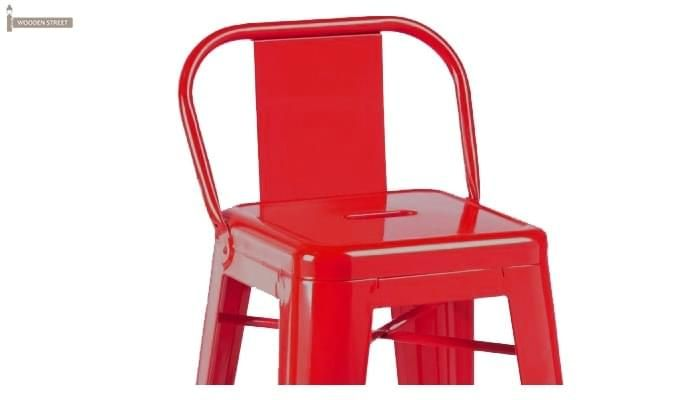 Torup Bar Stool (Red)-2