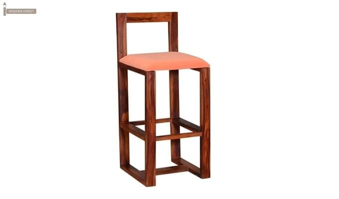 Vig Bar Chair (Teak Finish)-1