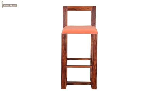 Vig Bar Chair (Teak Finish)-2