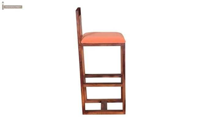 Vig Bar Chair (Teak Finish)-3