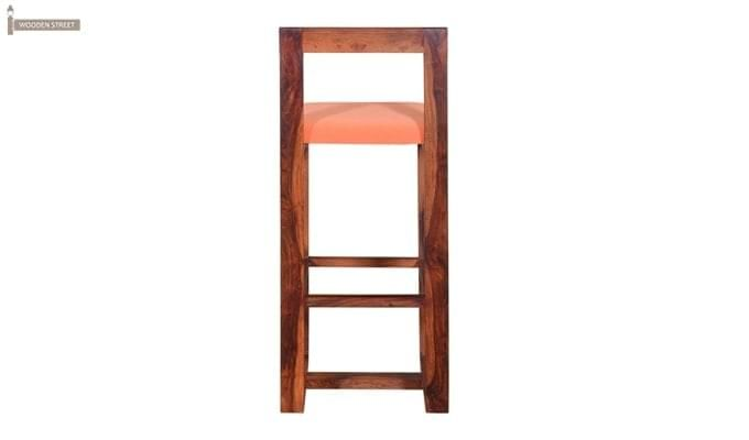 Vig Bar Chair (Teak Finish)-4